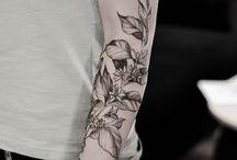 Tattoo botanica