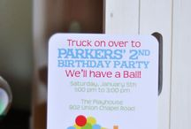 Jayce's 2nd birthday party ideas!! / by Sumer Cobb