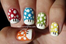 Cute nails! / by Heather Echols