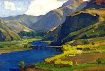 William Wendt Paintings
