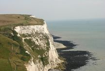 White Cliffs of Dover / Enjoy a walk along the cliff tops at any time of the year! / by Alkham Court Farmhouse B & B