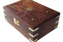 Wooden Storage Boxes / Buy Indian Handcrafted Wooden Boxes, Decorative Jewelry Box, Wood Storage Boxes, Wooden Wedding Boxes at low prices.