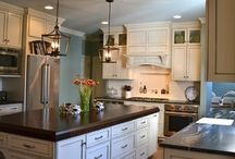 Beautiful Blue Kitchen / by Lane Homes & Remodeling, Inc.