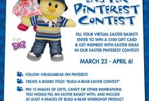 Build-A-Bear Pinterest Easter Contest / by Build-A-Bear Workshop