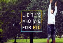 "Let's Move For Rio / Con la campagna sociale ""Let's Move for Rio"", Technogym promuove il movimento come strumento per rendere il mondo migliore, continuando così il percorso iniziato anni fa con ""Let's Move for a Better World""."