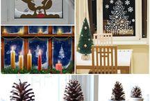 Deko zur Weihnachtszeit