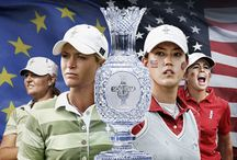 """2013 Solheim Cup Red, Blue & You"" / Ladies Golf the best of the best!!!"