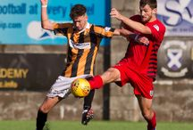 Jack Iredale / Football player at Queen's Park F.C. (on loan from Morton)