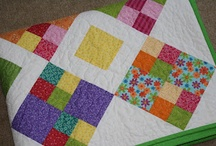 Quilting / I love to see all the different fabrics and designs other people and their ideas.