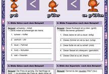 Dt. Grammatik 3 - Adjektive / Adjektive