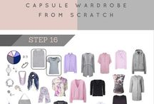 Capsule wardrobe / How to get started & inspiration