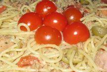 Tonhalas spagettisaláta