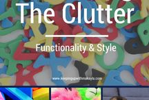 Organization Tips / Great organization tips to help mom and dad stay in a clutter free house. We all need them ;)
