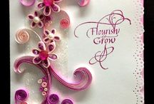 quilled cards