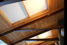 Pergolas, Porches and Patios / Polycarbonate applications such as pergolas, porches and patios.