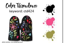 2017 Color Throwdown challenges