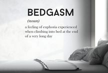I love and live in my bed.