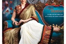 Designer Lehenga Sarees / At lifestyleMegamart.com one can get a wide range of sarees that are suitable for every occasion and one can attend parties or go to a formal meeting or any other casual place. All the sarees available in here are of high quality fabrics like art silk, Brasso, chanderi, chiffon, satin and crepe.
