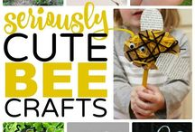 Bee crafts and activities for kids