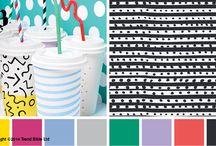 Energise / Energise Spring/Summer Trend inspired artwork #geometric #trendbible #colour #illustration #energise #drawing #art