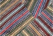 Räsymatot- Rag rugs / Räsymattoideoita