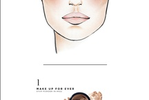Face charte and make up