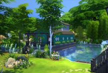 Sims 4 maisons
