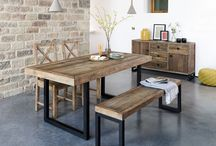 Tasteful Dining Room Furniture / It's important to love your dining room as much as you love the food you eat and the laughter you share over your meals. Let us help you chose the right furniture for your dining room with this board!