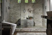 interiors-baths / by Susan Kennedy