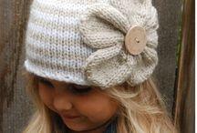 ČEPIČKY - háčování, pletení