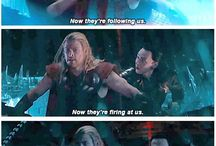 Filmy o Thorze / Screeny, memy, plakaty, tapety z filmów Thor, Avengers i Thor: Mroczny Świat