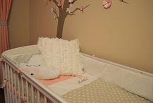 Zsófi's room / Home made beautiful baby room. Pictures from: http://pottyosszoba.blogspot.hu/2014/08/zsofia-szobaja.html