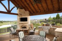 Estates: Kitchens. Dreamy Outdoor / Beautiful outdoor kitchens