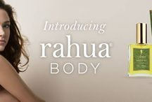 Rahua Body / Rahua, the trusted purveyor of ecological, luxury, and organic hair care is pleased to introduce a much anticipated line of three 100% natural body products. The Rahua Body  Collection, which includes Shower Gel, Body Lotion and Amazon Body Oil, uses symbiotic (rainforest#grown) ingredients ethically and sustainably sourced from the Amazon Rainforest, including Sacha Inchi oil, Buriti oil, Quinoa, Palo Santo and Rahua's star Ungurahua oil. / by RahuaBeauty