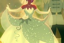 Disney the princess and the frog, tiana and naveen