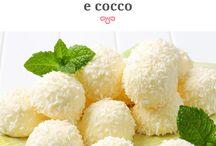 tartuffi al cioccolato bianco e cocco