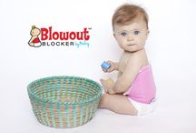 Blowout Blocker / Protection from up-the-back diaper blowouts! Fast, easy and stress free cleanup!