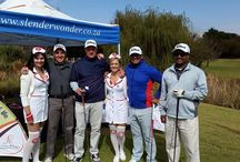 Arno Jordaan Charity Golf Day 2015 / Slender Wonder often supports charity & sporting events.