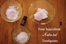 Natural Alternatives / Homemade everything from cleaning supplies to toothpaste.  And all natural!