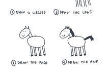 How to draw... / by Julie (Libélula)