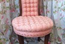 """Cool Chairs / I'm on the board of directors for the Mississauga Furniture Bank ( MississaugaFurnitureBank.org )and we are holding a """"Chair Affair"""" to raise money. There are some websites with examples of chairs that have been redone in a similar manner."""