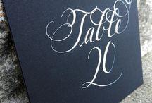 Calligraphy/Graphic Design
