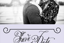 Wedding - Invitations and Save the Dates / by Sarah Hill