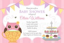 Lee Paperie Baby Shower Invitations / Digital downloadable baby shower invitations by Lee Arthaus