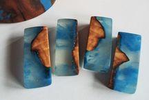 bio-joias resina com madeira