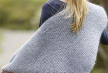 tricot châle