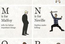 Harry Potter Stuff / by Delwyn H