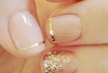nails wedding bridal