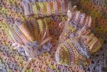 crochet and knitting yarn