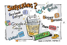 my 'digital' doodles / I love my job and spend many hours behind a computer designing, building websites & managing Social Media for businesses. Doodling is a fine example of the use of creative thinking. You can see a different perception of the world through the eyes of the Doodler. I have been inspired to encapsulate all aspects of Business, Marketing and Social Media through my drawings - from the serious to the humourous, and from the normal to more current things about our new digital era. ~irma